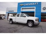 2017 Summit White Chevrolet Silverado 1500 LT Double Cab #116871224