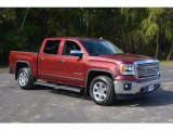 2014 Sonoma Red Metallic GMC Sierra 1500 SLT Crew Cab 4x4 #116871276