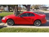 2001 Performance Red Ford Mustang GT Coupe #116870912