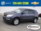 2013 Atlantis Blue Metallic Chevrolet Traverse LS AWD #116871271