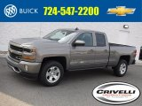 2017 Pepperdust Metallic Chevrolet Silverado 1500 LT Double Cab 4x4 #116871267