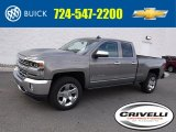 2017 Pepperdust Metallic Chevrolet Silverado 1500 LTZ Double Cab 4x4 #116871266