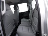2017 Chevrolet Silverado 1500 WT Double Cab 4x4 Rear Seat