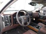 2017 Chevrolet Silverado 1500 High Country Crew Cab 4x4 High Country Saddle Interior