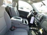 2017 Chevrolet Silverado 1500 WT Regular Cab 4x4 Jet Black Interior