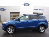 2017 Lightning Blue Ford Escape SE 4WD #116898974
