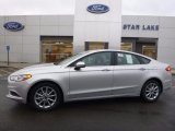 2017 Ingot Silver Ford Fusion SE #116898973
