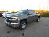 2017 Pepperdust Metallic Chevrolet Silverado 1500 LT Double Cab 4x4 #116919904