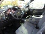 2017 Chevrolet Silverado 1500 WT Regular Cab 4x4 Dark Ash/Jet Black Interior