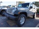 2017 Billet Silver Metallic Jeep Wrangler Unlimited Sport 4x4 #116919691
