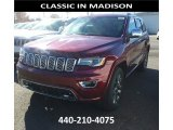2017 Velvet Red Pearl Jeep Grand Cherokee Overland 4x4 #116919860