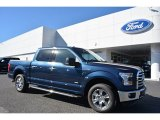 2016 Blue Jeans Ford F150 XLT SuperCrew #116919717
