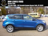 2017 Lightning Blue Ford Escape SE 4WD #116944446