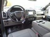 2017 Ford F150 XLT SuperCrew 4x4 Earth Gray Interior