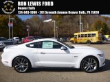 2017 Oxford White Ford Mustang GT Premium Coupe #116944444
