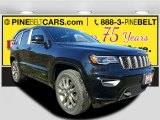 2017 Diamond Black Crystal Pearl Jeep Grand Cherokee Limited 75th Annivesary Edition 4x4 #116944372