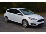 2015 Oxford White Ford Focus SE Hatchback #116944642