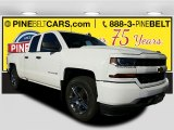 2017 Summit White Chevrolet Silverado 1500 Custom Double Cab 4x4 #116944355