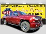 2017 Siren Red Tintcoat Chevrolet Silverado 1500 LTZ Double Cab 4x4 #116944337