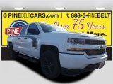 2017 Summit White Chevrolet Silverado 1500 Custom Double Cab 4x4 #116944335
