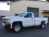 2017 Summit White Chevrolet Silverado 1500 WT Regular Cab 4x4 #116944247
