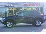 2009 Super Black Nissan Murano SL #11668763