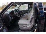 2017 Chevrolet Silverado 1500 WT Regular Cab Dark Ash/Jet Black Interior