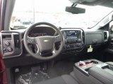 2017 Chevrolet Silverado 1500 LT Double Cab 4x4 Jet Black Interior
