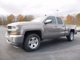 2017 Pepperdust Metallic Chevrolet Silverado 1500 LT Double Cab 4x4 #116944522