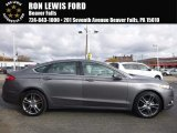 2013 Sterling Gray Metallic Ford Fusion Titanium #116944452
