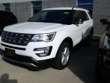 2017 Oxford White Ford Explorer XLT 4WD #116978550
