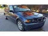 2002 Orient Blue Metallic BMW 3 Series 325i Sedan #116978500