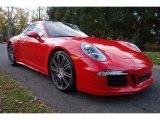 2016 Porsche 911 Guards Red