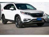 2016 White Diamond Pearl Honda CR-V Touring #116985533