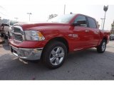 2017 Flame Red Ram 1500 Big Horn Crew Cab #116993055