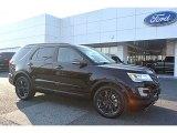 2017 Shadow Black Ford Explorer XLT #117016380