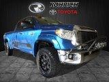 2017 Blazing Blue Pearl Toyota Tundra SR5 Double Cab 4x4 #117016603