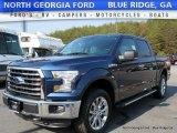 2016 Blue Jeans Ford F150 XLT SuperCrew 4x4 #117016260
