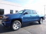 2017 Deep Ocean Blue Metallic Chevrolet Silverado 1500 LT Crew Cab 4x4 #117041641