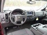 2017 Chevrolet Silverado 1500 LT Crew Cab 4x4 Jet Black Interior