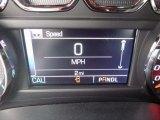 2017 Chevrolet Silverado 1500 LT Crew Cab 4x4 Gauges