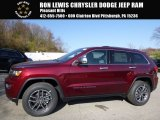 2017 Velvet Red Pearl Jeep Grand Cherokee Limited 4x4 #117062948