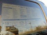 2017 Chevrolet Silverado 1500 WT Double Cab 4x4 Window Sticker
