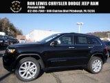 2017 Diamond Black Crystal Pearl Jeep Grand Cherokee Limited 4x4 #117062943