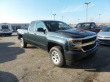 2017 Chevrolet Silverado 1500 WT Double Cab 4x4 Front 3/4 View