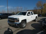 2017 Summit White Chevrolet Silverado 1500 LT Double Cab 4x4 #117062983
