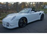 2012 Carrara White Porsche 911 Turbo S Cabriolet #117062724
