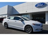 2017 Oxford White Ford Fusion SE #117062817