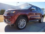2017 Velvet Red Pearl Jeep Grand Cherokee Summit 4x4 #117062795
