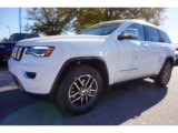 2017 Bright White Jeep Grand Cherokee Limited #117062794